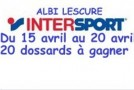 INTERSPORT ET 20 DOSSARDS A GAGNER