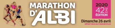 MARATHON D'ALBI > Dimanche 26 Avril 2020